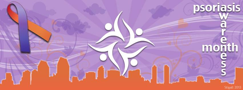 Psoriasis Awareness Month Facebook Cover