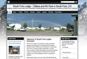 South Fork Lodge and RV Website
